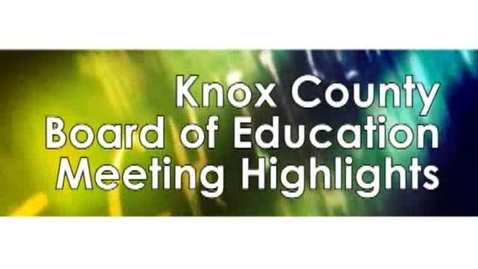 Thumbnail for entry Knox County Governor's Scholars Participants
