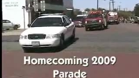 Thumbnail for entry Honey Grove High School Homecoming 2009 Parade
