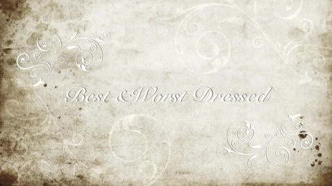 Thumbnail for entry Best and Worst Dressed