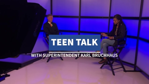 Thumbnail for entry Teen Talk with Karl Bruchhaus