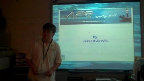 Thumbnail for entry Jarrett Jarvis -- PowerPoint Presentation Speech -- Mr. Gilbert's class -- Spring 2012