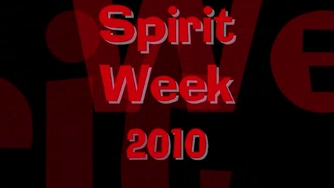 Thumbnail for entry Spirit Week 2010