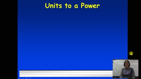 Thumbnail for entry Unit 1: Units of Power p.17