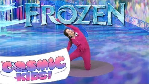 Thumbnail for entry Frozen | A Cosmic Kids Yoga Adventure!