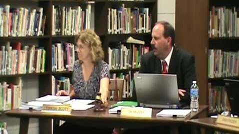 Thumbnail for entry School Board Meeting 6/14/12 pt1