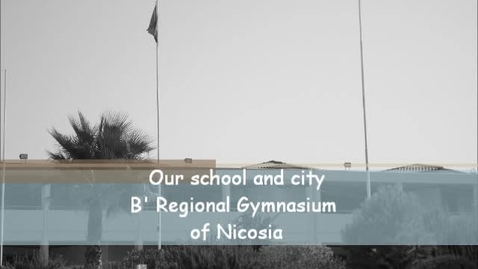 Thumbnail for entry Our City and School - Cyprus