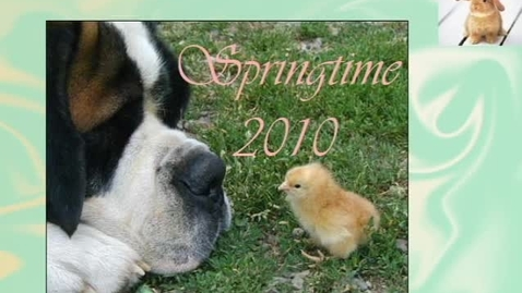 Thumbnail for entry Springtime 2010 with Shannon - WSCN (2009-2010)