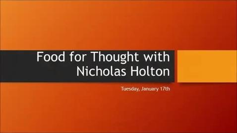 Thumbnail for entry F4T Nicholas Jan 17