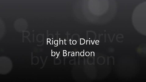 Thumbnail for entry Brandon's Speech