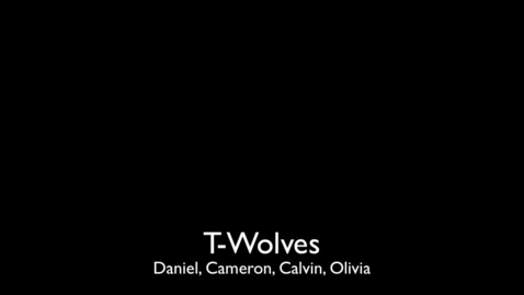 Thumbnail for entry T-Wolves Podcast
