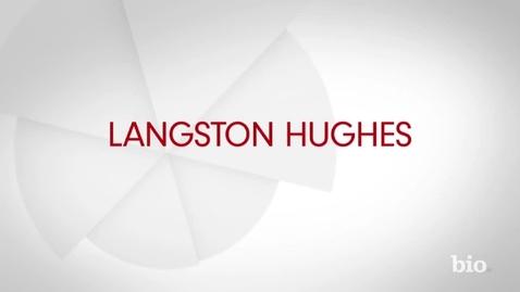 Thumbnail for entry Langston Hughes Biography