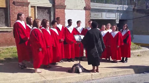 Thumbnail for entry CASH Students Sing at Coatesville Centennial