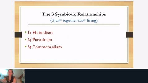 Thumbnail for entry 3 Symbiotic Relationships
