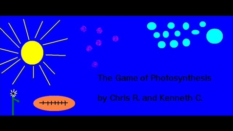 Thumbnail for entry Photosynthesis by Kenneth and Christopher
