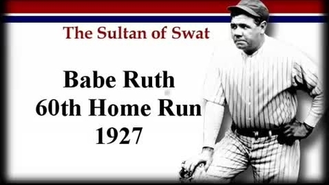 Thumbnail for entry Babe Ruth