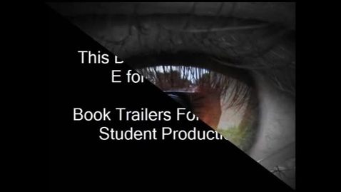 Thumbnail for entry The Witches Book Trailer