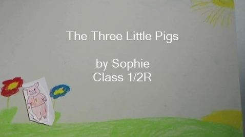 Thumbnail for entry The Three Little Pigs