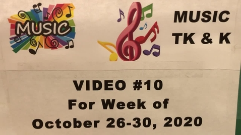 Thumbnail for entry Music TK&K Lesson #10