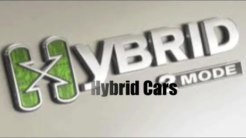 Thumbnail for entry Hybrid Cars