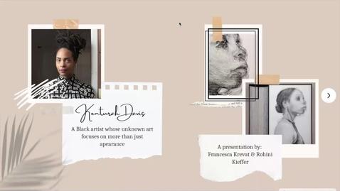 Thumbnail for entry Kenturah Davis (2)
