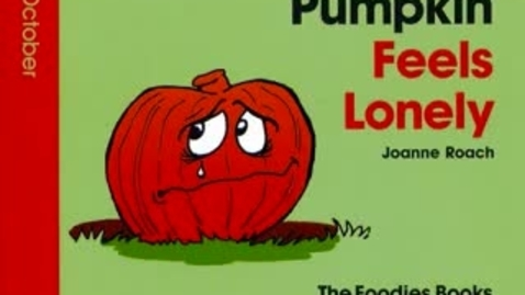 Thumbnail for entry October Book Of The Month - Pumpkin Feels Lonely