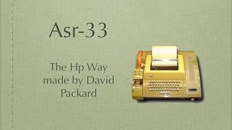 Thumbnail for entry asr 33