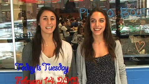 Thumbnail for entry Tuesday, February 14, 2012
