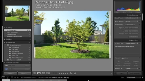 Thumbnail for entry Exposure Compensation