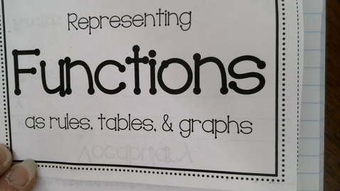 Thumbnail for entry Relations and Functions Foundations