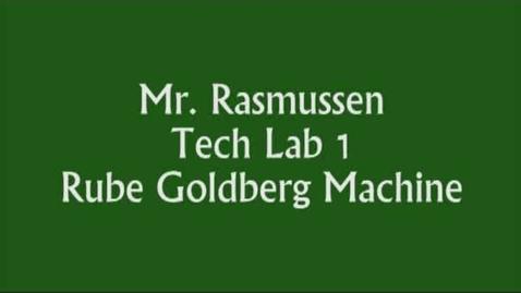 Thumbnail for entry Tech Lab 1 - Rube Goldberg Machine