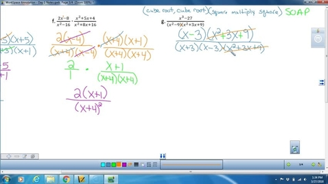 Thumbnail for entry Math 3 Day 1 Lesson on Dividing Rationals