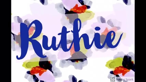 Thumbnail for entry Ruthie's I Am Video