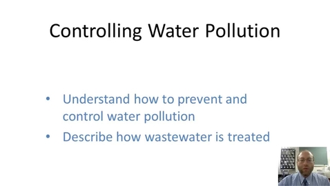 Thumbnail for entry Controlling Water Pollution