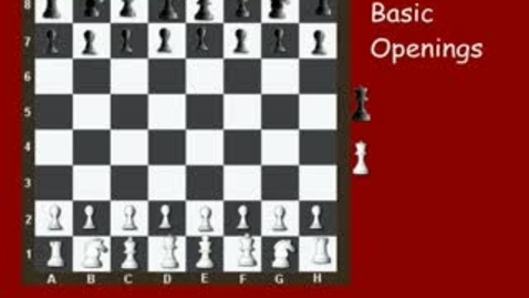 Thumbnail for entry Basic Chess Openings