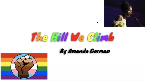 Thumbnail for entry The Hill We Climb