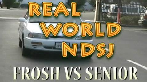 Thumbnail for entry Real World NDSJ Frosh vs Senior