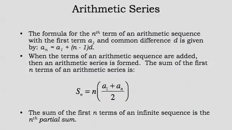 Thumbnail for entry Math 2: Complex Solutions of Quad Equat Models 14