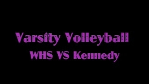 Thumbnail for entry Woodhaven Girls Varsity Volleyball '10
