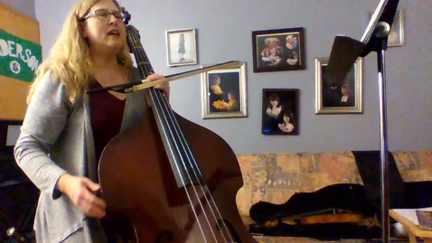 Thumbnail for entry 6th Grade Bass Part for D-Tour