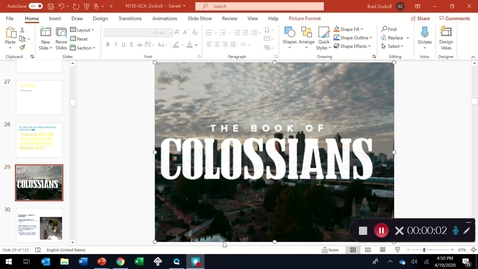 Thumbnail for entry COLOSSIANS: an introduction