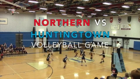 Thumbnail for entry Volleyball vs, Huntingtown