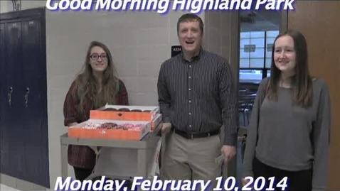 Thumbnail for entry Monday, February 10, 2014