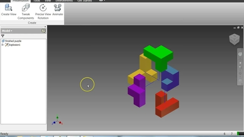 Thumbnail for entry Extended animation instructions for Autodesk Inventor - .ipn