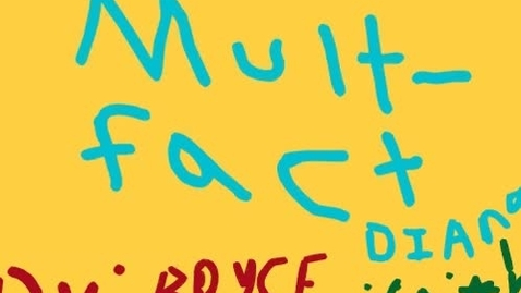 Thumbnail for entry Animated Math: Multiplication Facts