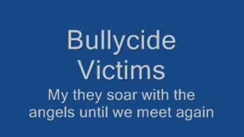 Thumbnail for entry Bullied to death: They committed suicide because of bullying