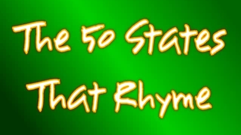 Thumbnail for entry 50 States Song