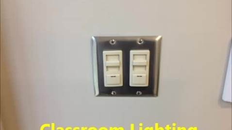 Thumbnail for entry Electrical System - Classroom Lights