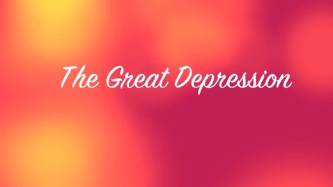 Thumbnail for entry the great depression, by gretchan