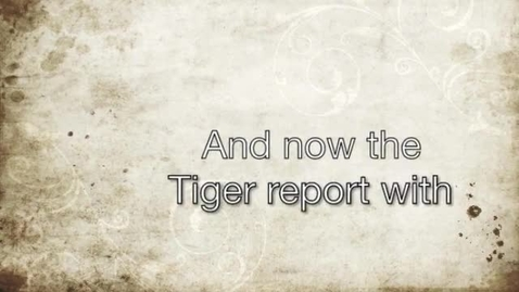 Thumbnail for entry 2015 10 16 Tiger Television
