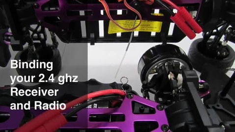 Thumbnail for entry How to Bind the SRC-001 Radio to Receiver